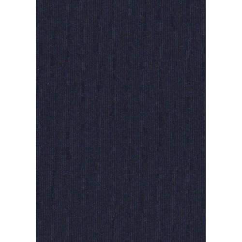 Jersey coton bleu marine