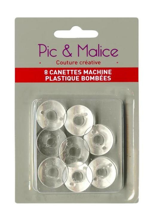 Canettes bombées plastique standard