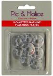 Canettes plates plastique standard