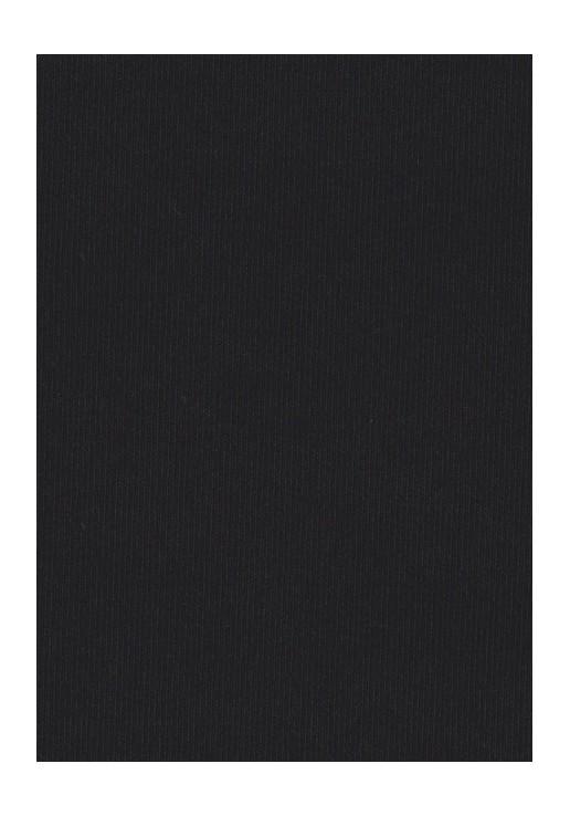Tissu jersey coton noir
