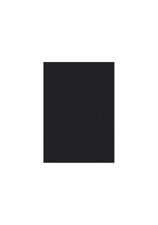Tissu jersey de coton - Noir