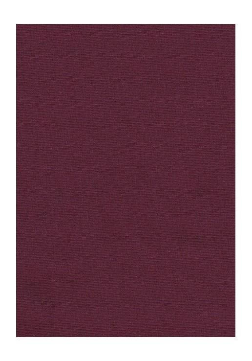 Jersey coton bordeaux