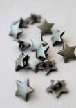 Bouton étoile bronze