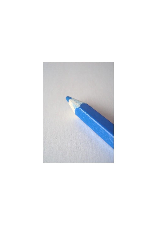 Crayon craie bleu