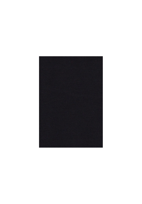 Tissu gabardine de coton - Noir