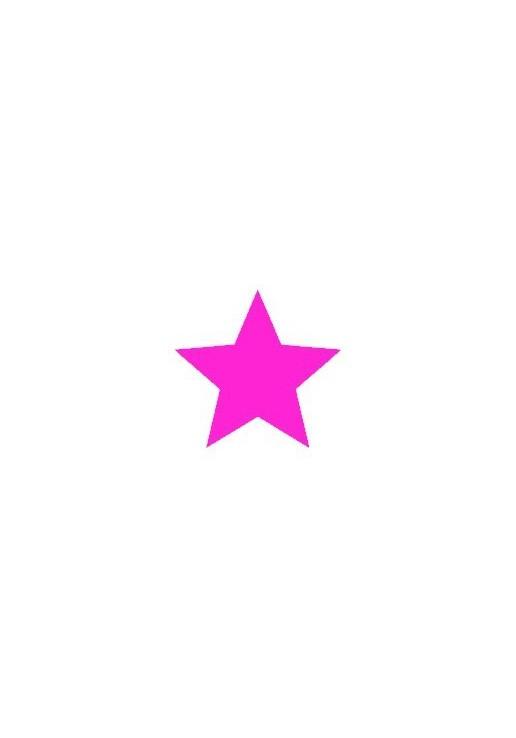 Motif thermocollant étoile