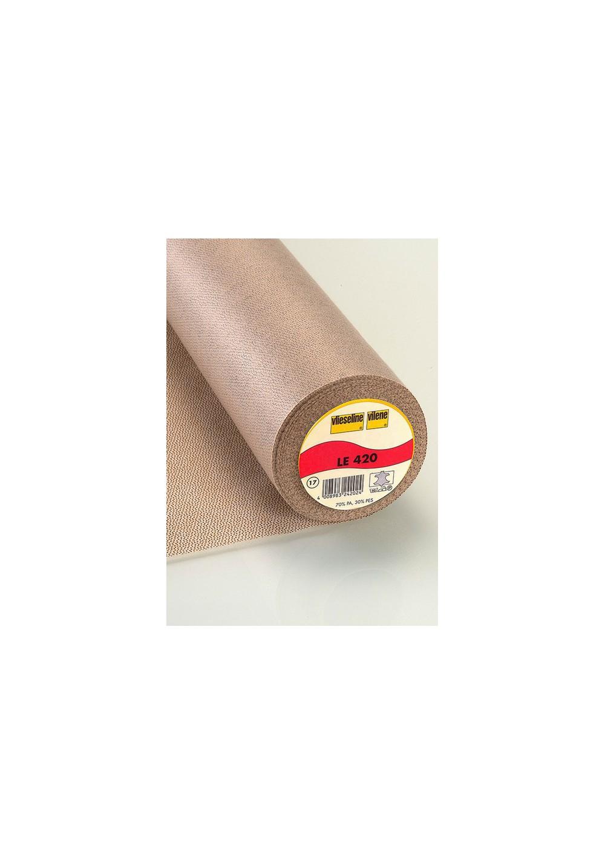 Entoilage spécial cuir - Vlieseline LE 420