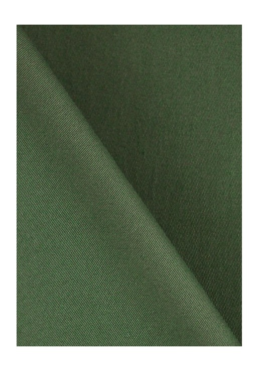 Gabardine stretch - Kaki foncé