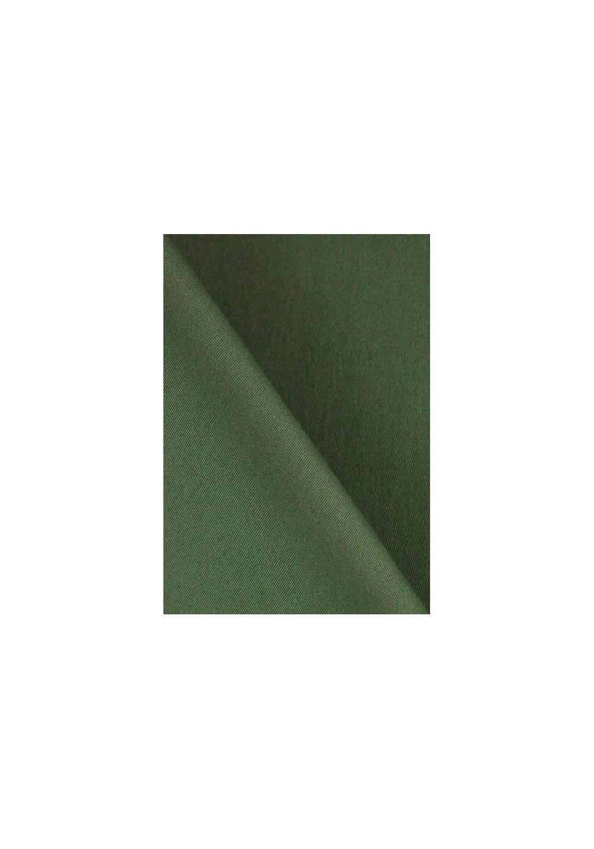 Tissu gabardine stretch - Kaki foncé