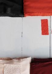 Tissu crêpe tangerine - Atelier Brunette