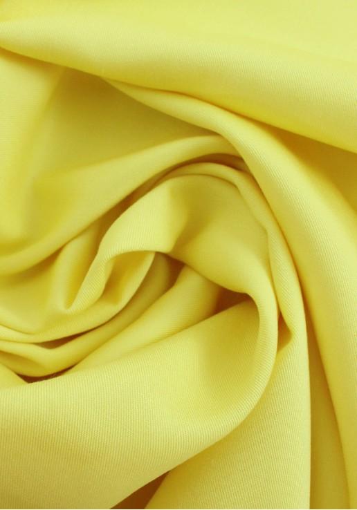 Tissu viscose Twill - Jaune