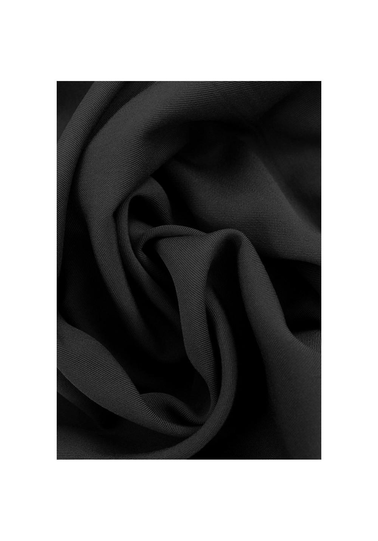 Tissu viscose Twill - Noir