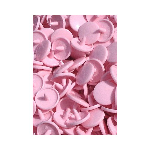 10 pressions KAM rondes *Rose pastel B18*