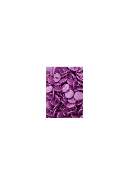 10 pressions KAM rondes *Violet B41*