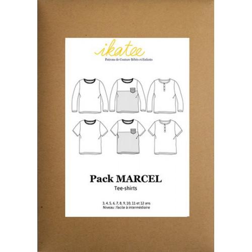 Pack Tee-Shirt Marcel - Ikatee