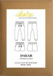 Patron pantalon fluide Dakar - Ikatee