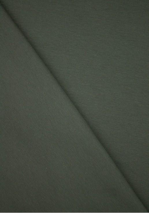 Tissu Molleton Fin - Kaki