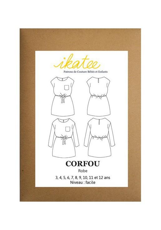 Patron robe Corfou - Ikatee