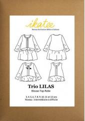 Patron trio Lilas - Ikatee
