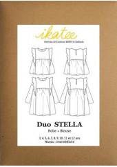 Patron robe et blouse Stella - Ikatee
