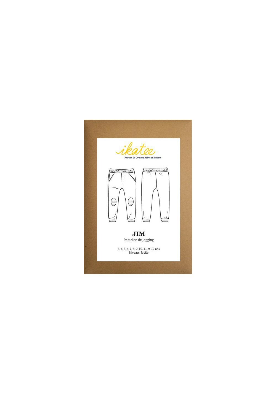 Patron pantalon jogging Jim - Ikatee