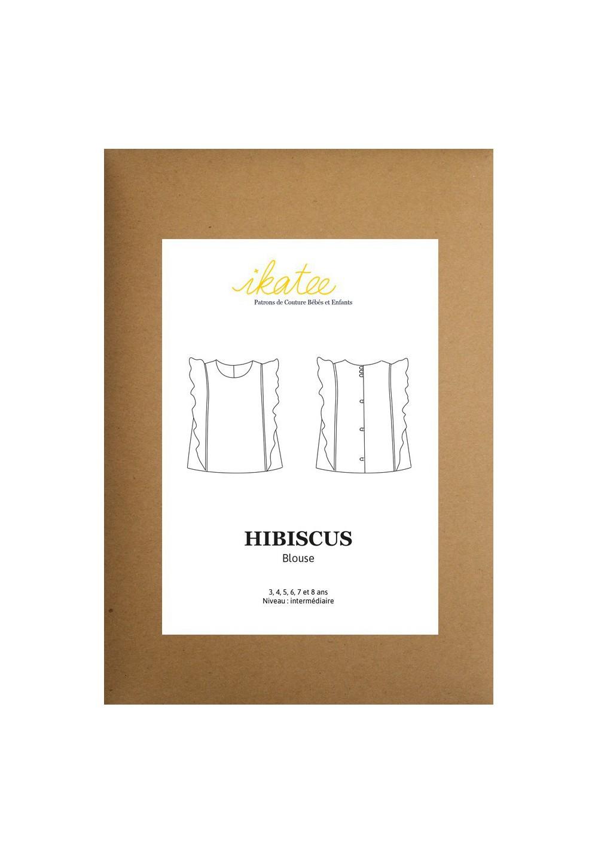 Patron blouse Hibiscus - Ikatee