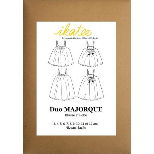 Patron robe et blouse Majorque - Ikatee