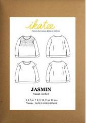 Patron sweat Jasmin - Ikatee