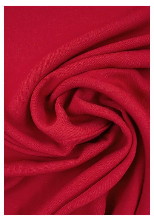 Tissu viscose Twill - Rouge