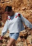 Patron couture sweat Granite