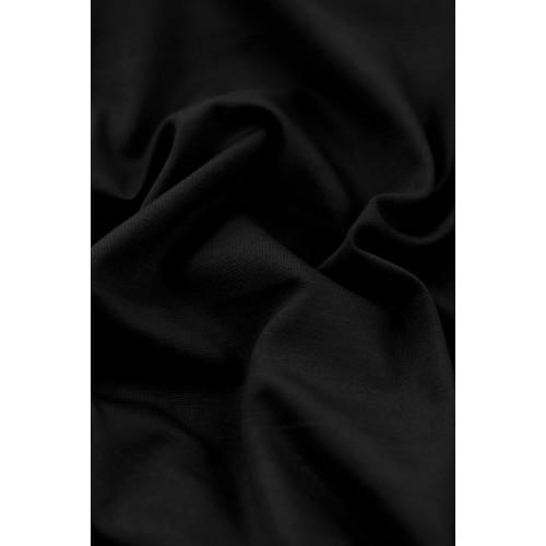 Tissu jersey milano - noir