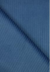 Tissu velours grosses côtes - Federal Blue
