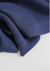 Tencel chambray bleu brut