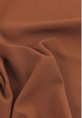 Tissu crêpe rouille