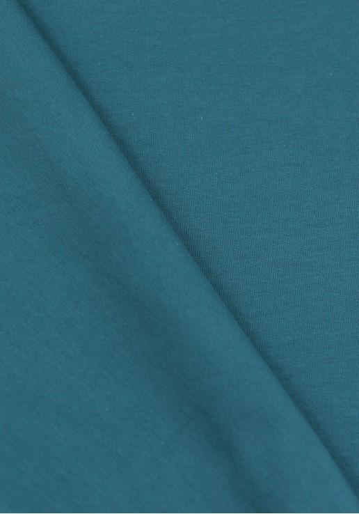 Tissu Molleton Fin - Pétrole