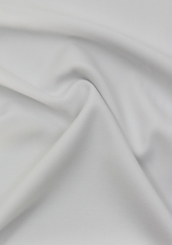 Tissu crêpe lourd blanc
