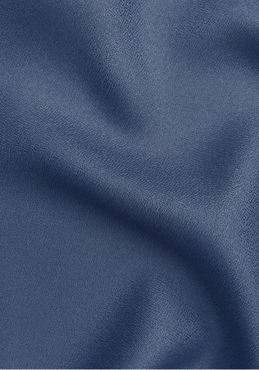 Tissu crêpe Cobalt - Atelier Brunette