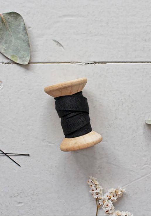 Biais Atelier Brunette - Crêpe Black
