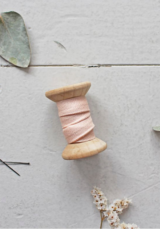 Biais Atelier Brunette - Crêpe Powder