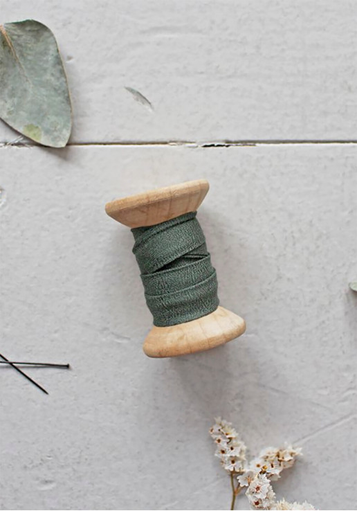 Biais Atelier Brunette - Crêpe Cedar Green