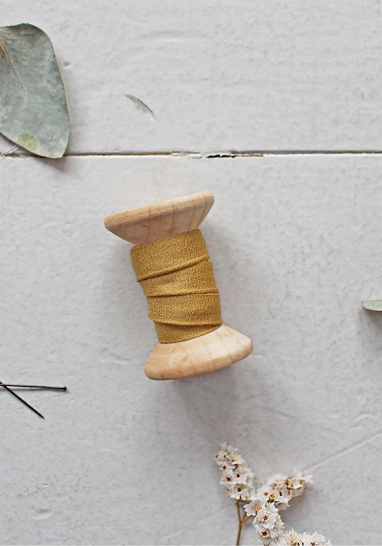 Biais Atelier Brunette - Crêpe Mustard