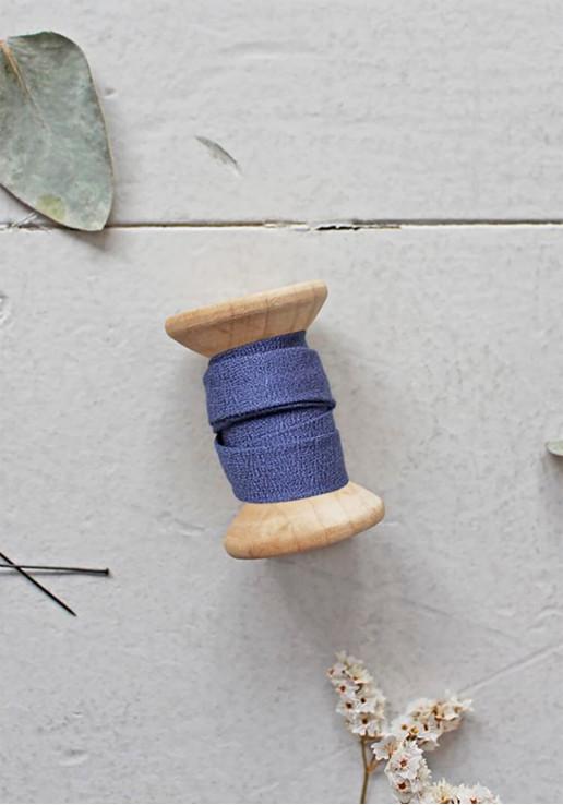 Biais Atelier Brunette - Crêpe Cobalt