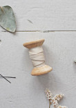 Biais Atelier Brunette - Crêpe Off White