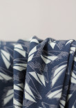 Twill de viscose Bleuroz - Sweet Shape True Navy