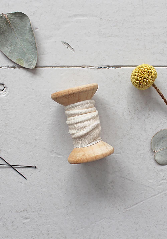 Passepoil Atelier Brunette - Crêpe Off White