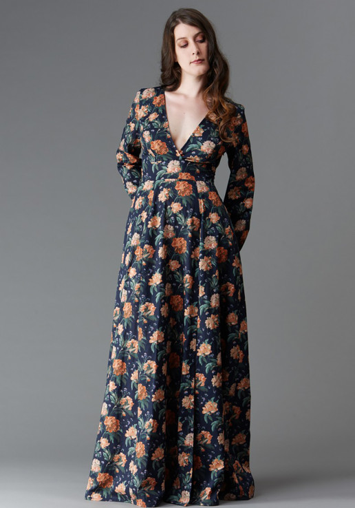 Patron robe Magnolia