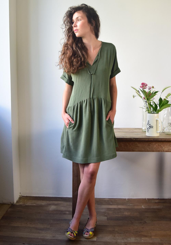 Patron De Couture Robe Guinguette De Cousette Patterns