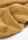 Tissu viscose texturé - Moutarde