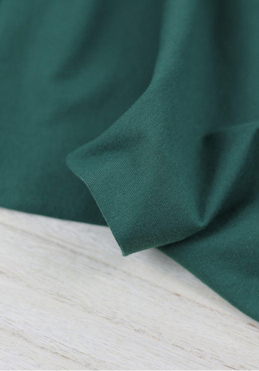 Tissu jersey de coton - Canard
