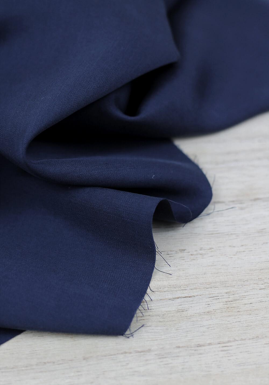 Tissu Lyocell - Navy